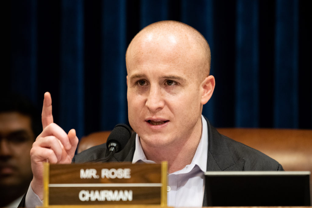 Former congressman Max Rose listed as Pentagon COVID adviser