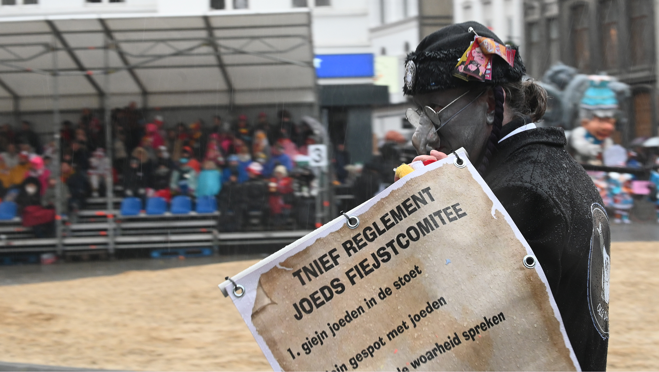 COVID-19 comment spurs an anti-Semitism complaint filed against head of Belgium's Jew-mocking Aalst carnival