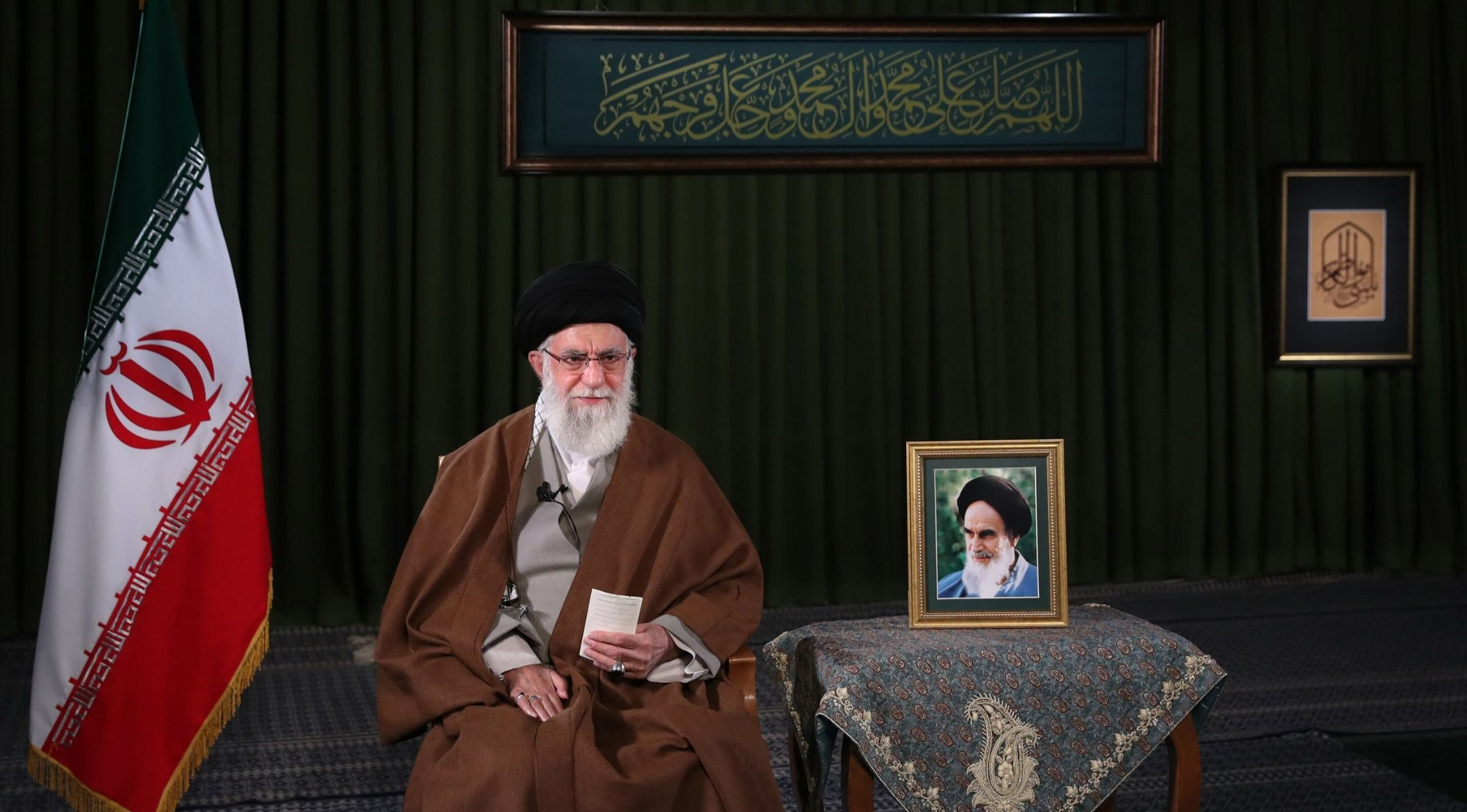 No, Twitter did not suspend Ayatollah Khamenei, Iran's supreme leader