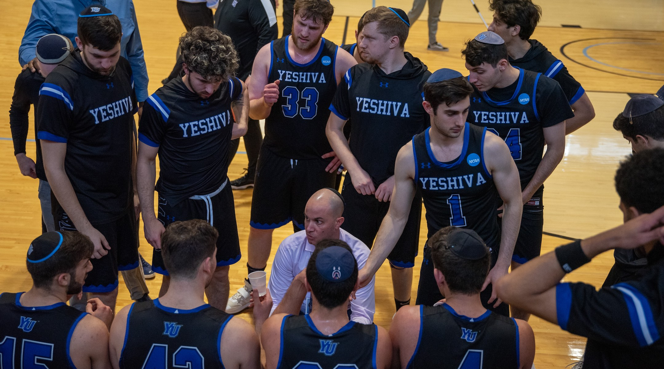 Yeshiva University men's basketball is on a 35-game winning streak