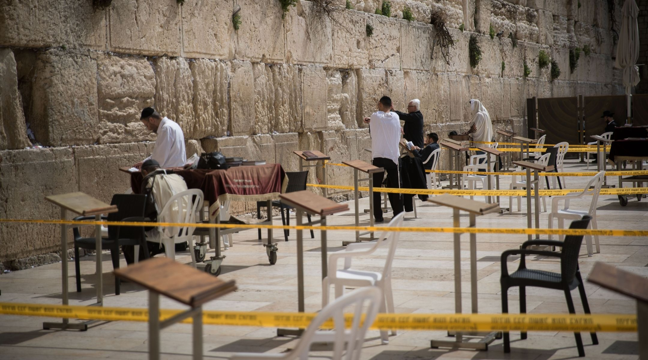 Jews may not be able to visit the Western Wall — but they can still...