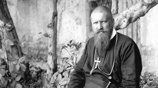 Andrey Sheptytsky in Lviv in the 1930s. (Odessa Review)