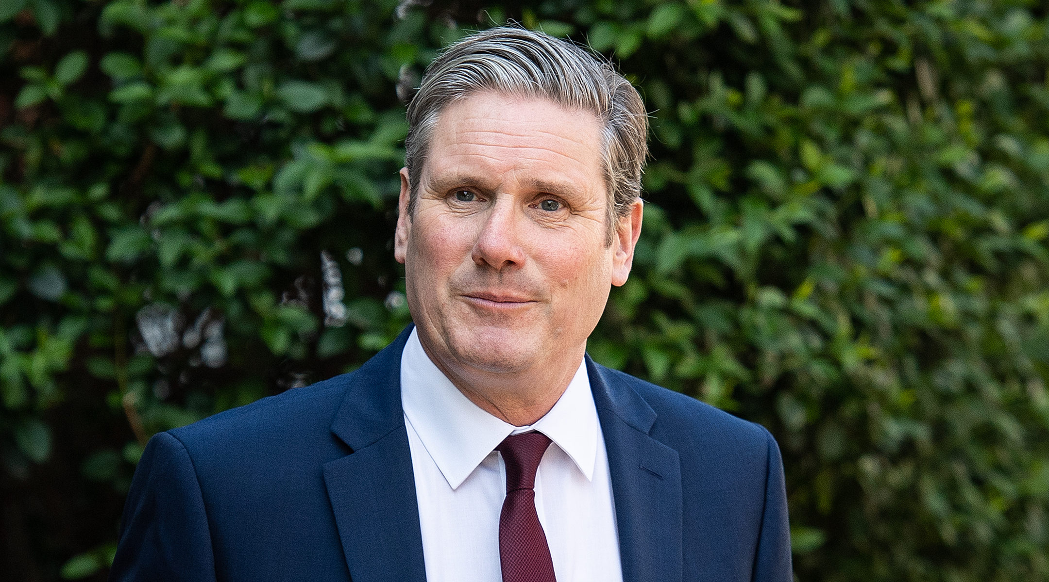 Labour Party leader Keir Starmer leaving his home in London, UK on April 22, 2020. (Leon Neal/Getty Images)