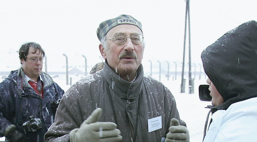 henri kichka at auschwitz