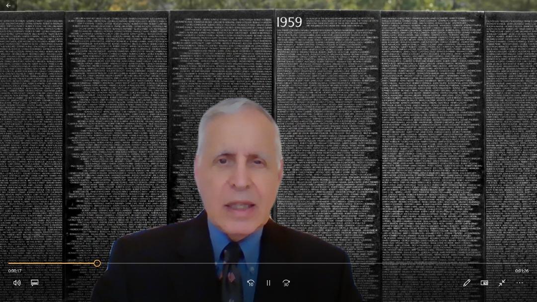 This rabbi and Vietnam vet helped unveil the Vietnam War memorial in 1982. Now he's...