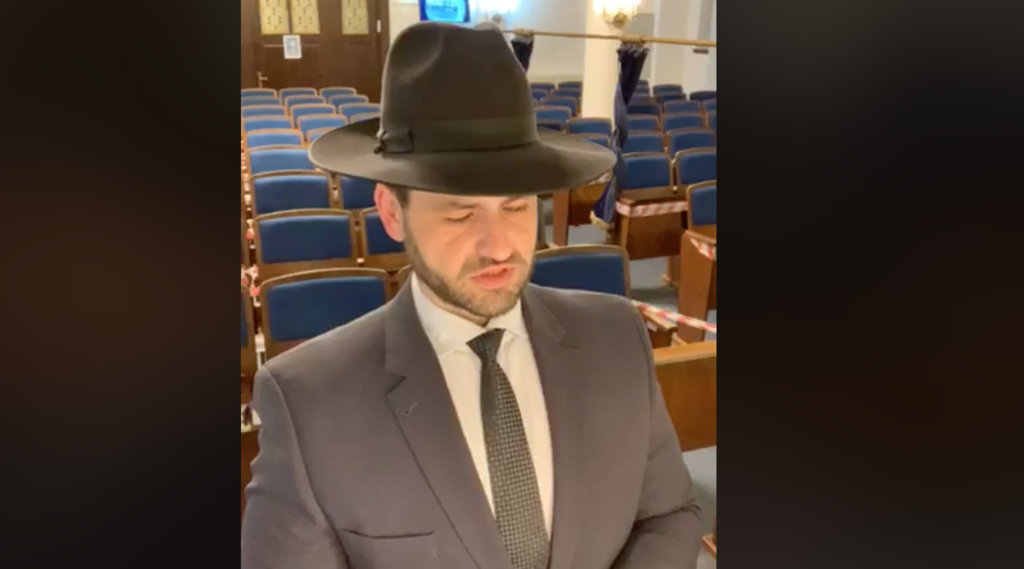 I started watching this German rabbi praying alone early in the pandemic, and I couldn't stop – …