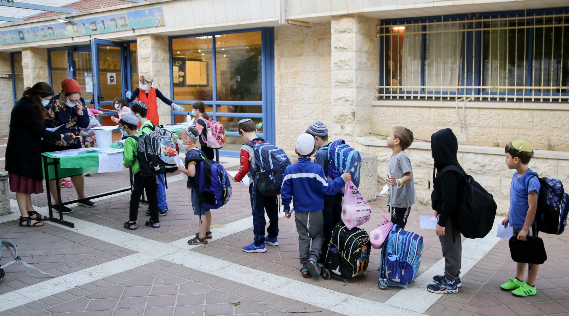 Israel to limit class sizes, keep older students home in second attempt at reopening schools