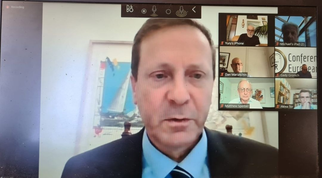 Global Jewish leaders meet in videoconference to address community needs after coronavirus