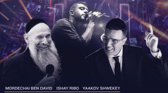 A poster promoting a benefit for COVID-19 victims in Israel. (Migdal Ohr) concert by