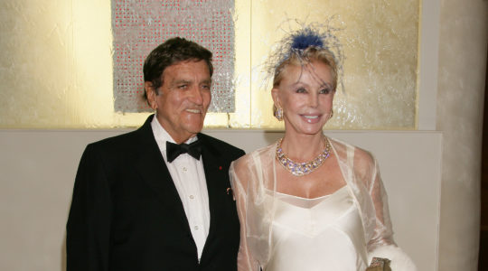 Tony Murray and Baronne Von Brandstetter attending the 57th Red Cross Ball on August 5, 2005 in Monaco. (Stephane Cardinale/Corbis via Getty Images)