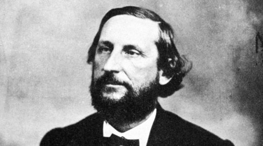 Judah Benjamin, seen here in 1855, served in Jefferson Davis' cabinet during the Civil War and was the Confederacy's most prominent Jew. A synagogue in California included his name on a window memorializing significant Jewish figures. (The Print Collector/Print Collector/Getty Images)