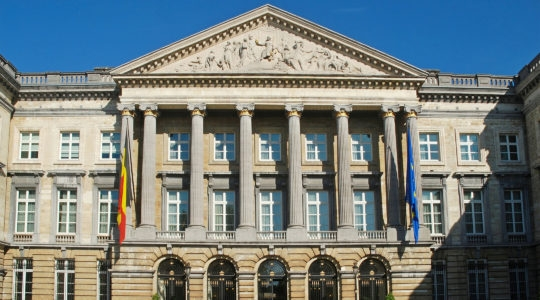 The Chamber of Representatives in Brussels. Belgium. (Wikimedia Commons)