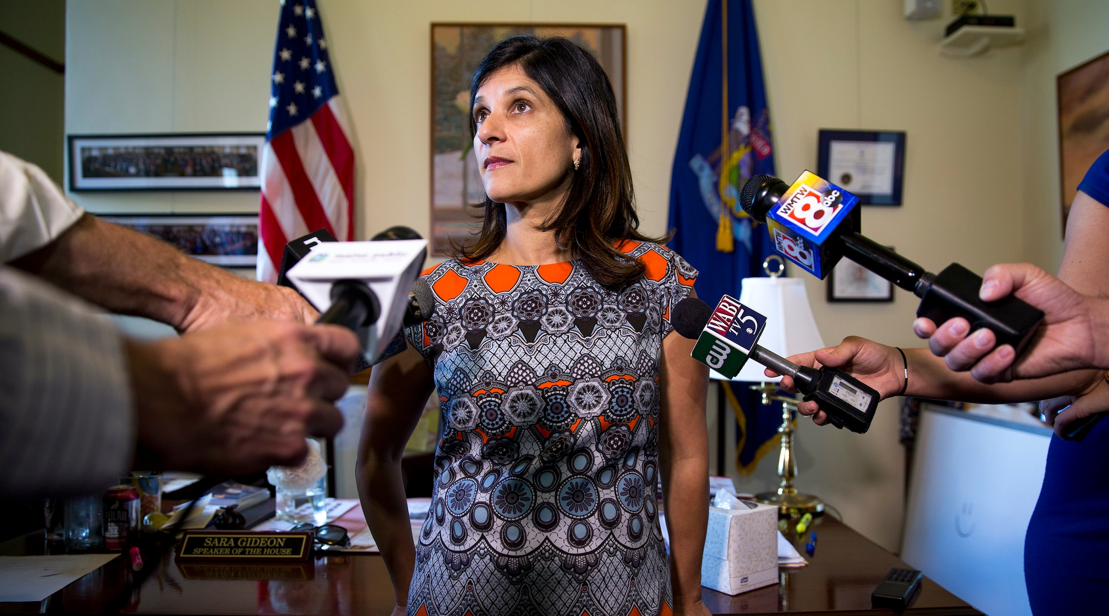 Sara Gideon could flip Susan Collins' Senate seat blue. She's building a wide base of...