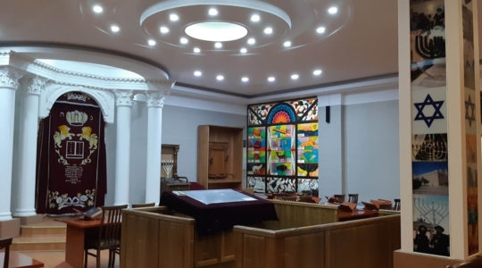 The Ashkenazi Synagogue of Tashkent, Uzbekistan. (Courtesy of L'Chaim)