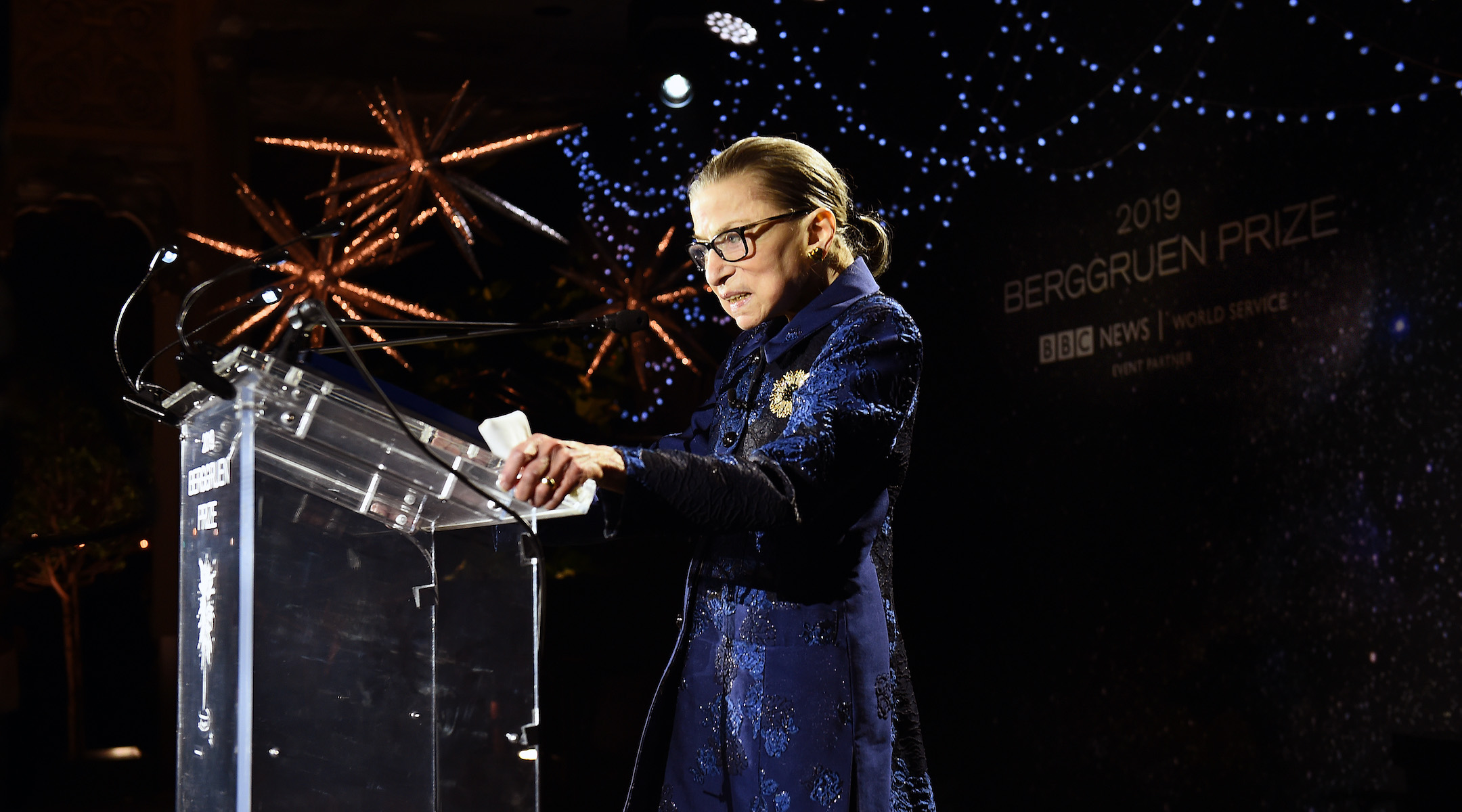 Ruth Bader Ginsburg is at home and 'doing well' after hospitalization