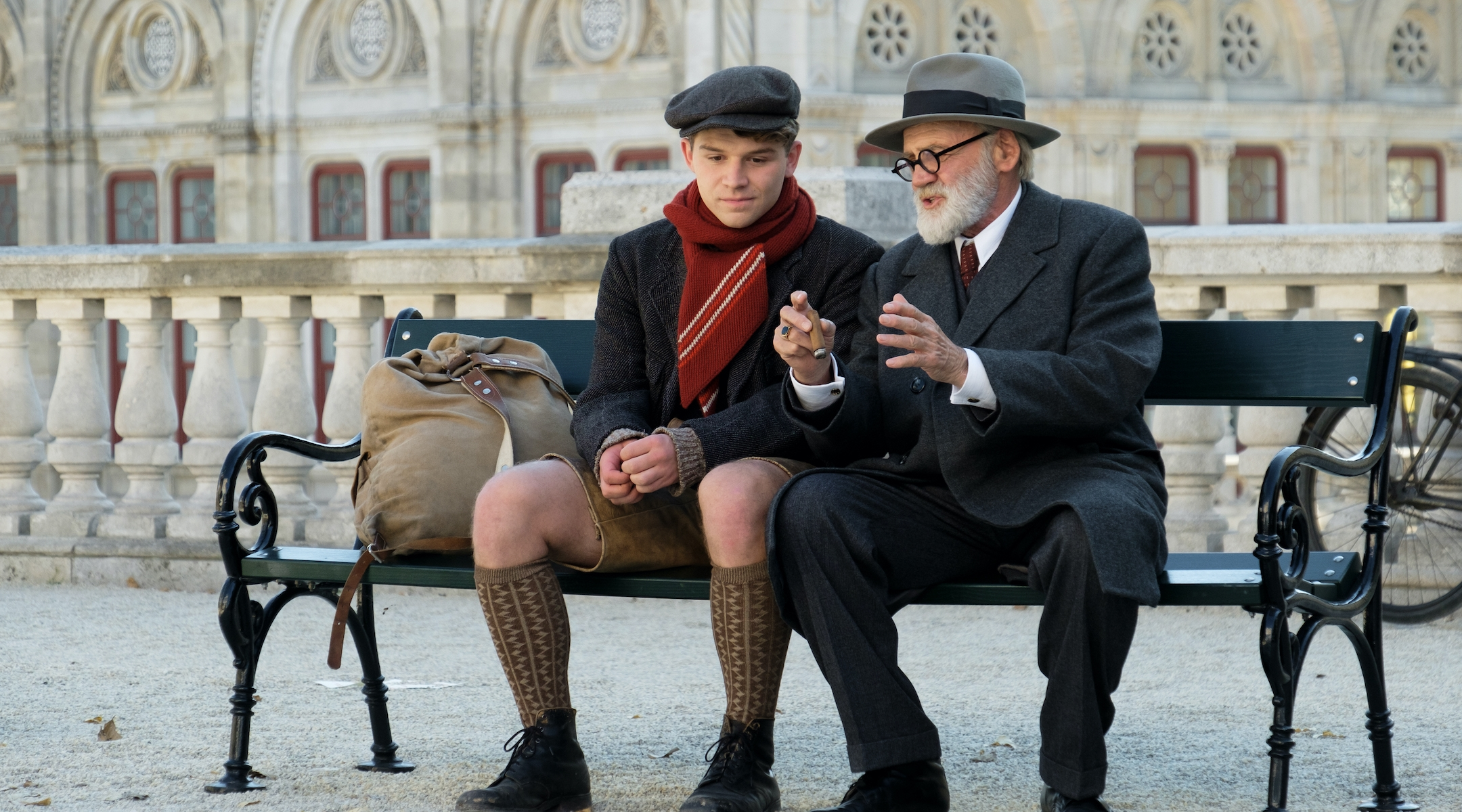 In 'The Tobacconist,' a young Austrian befriends Freud during WWII