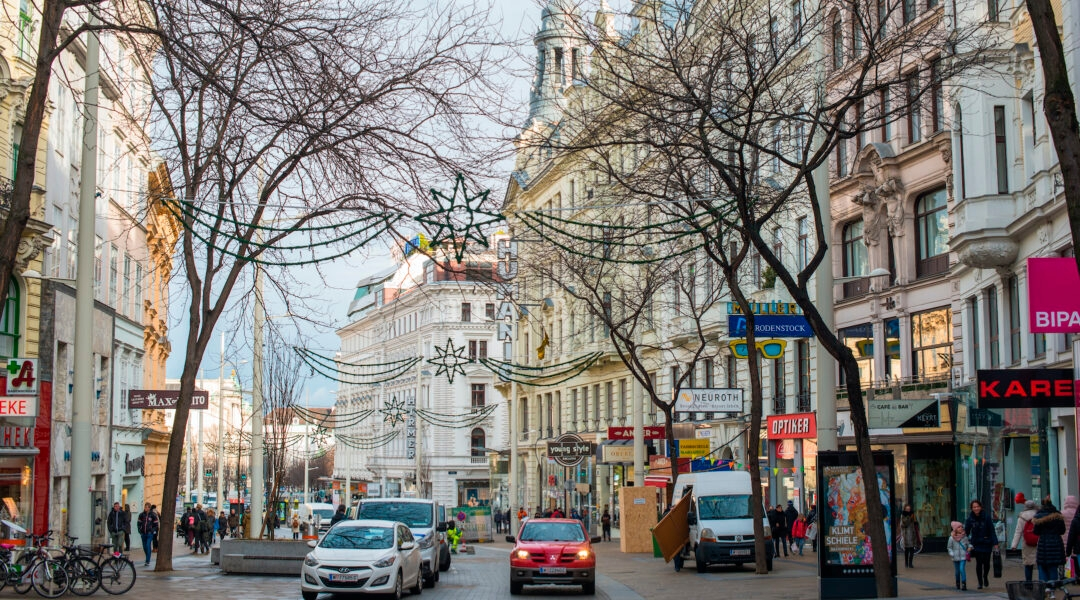 Most of the 8,000 or so Jews left in Austria live in Vienna, shown here in 2018. (Andrew Michael/Education Images/Universal Images Group via Getty Images)