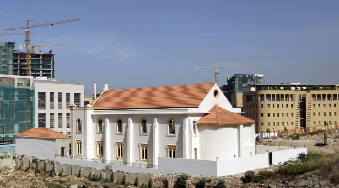A view of the Maghen David Synagogue in Beirut, Lebanon in 2010. (Joseph Eid/AFP via Getty Images)