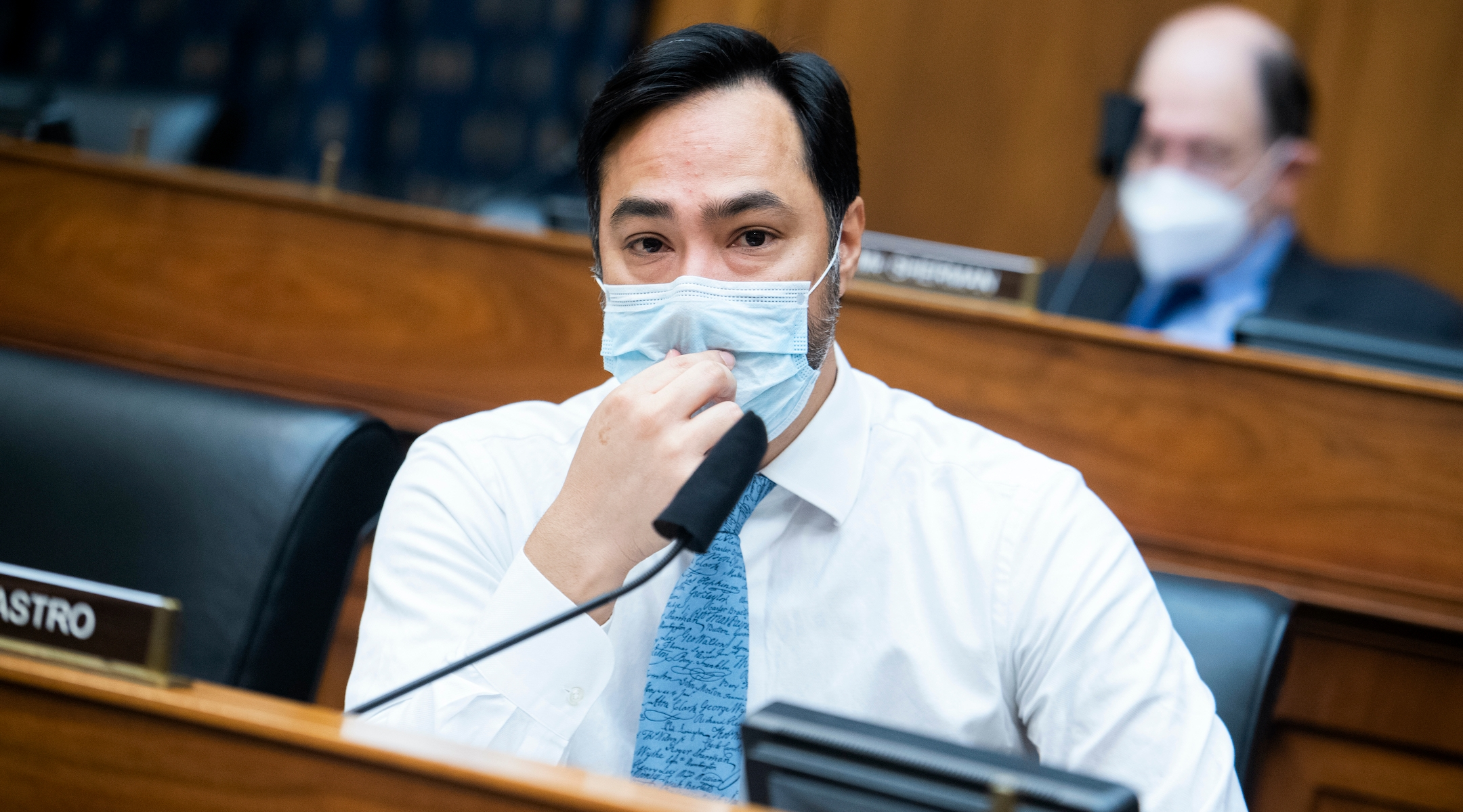 Some Democratic lawmakers, including Joaquin Castro and Rashida Tlaib, criticize Israel on vaccines for Palestinians