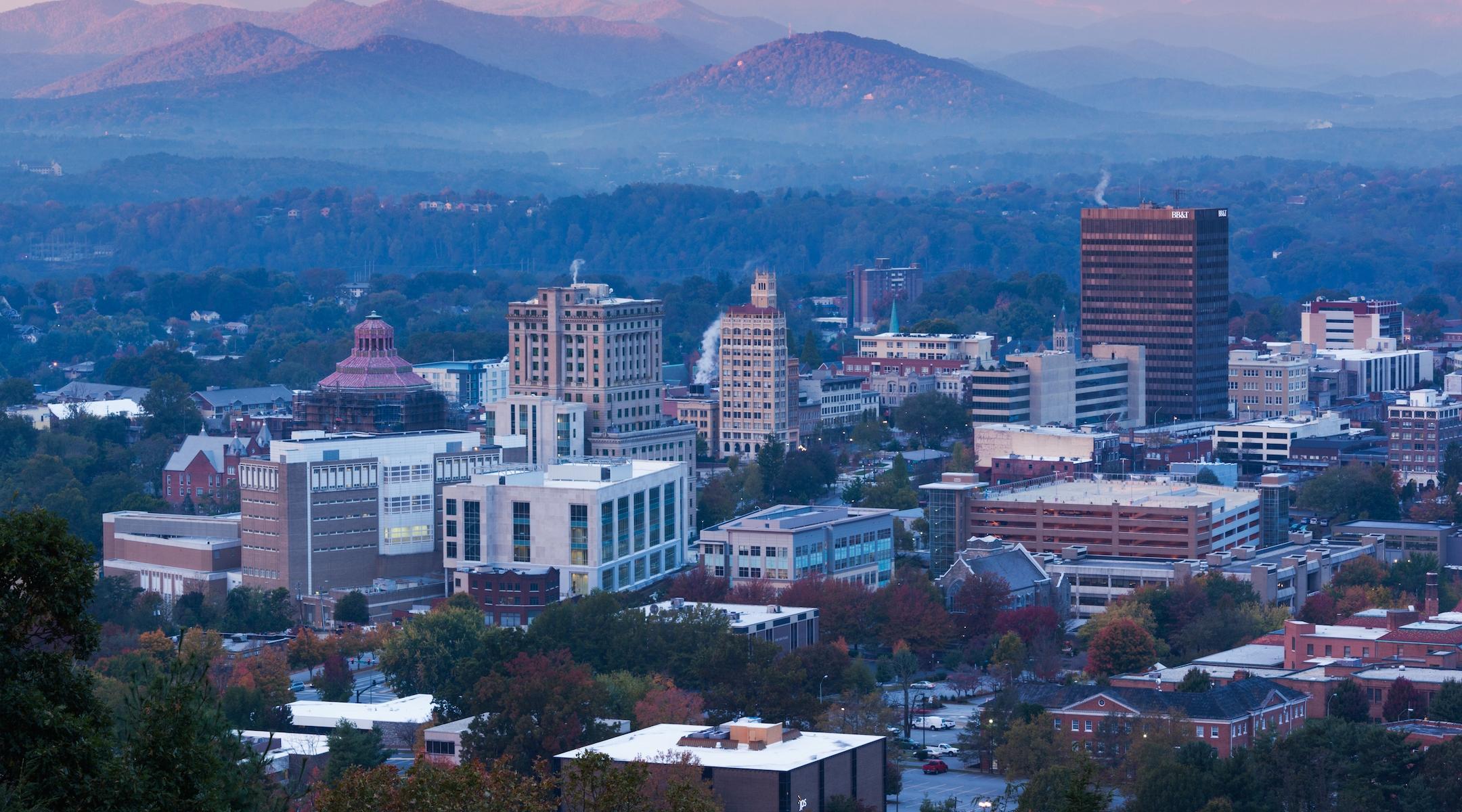 A view of Asheville, North Carolina. (Stock image)