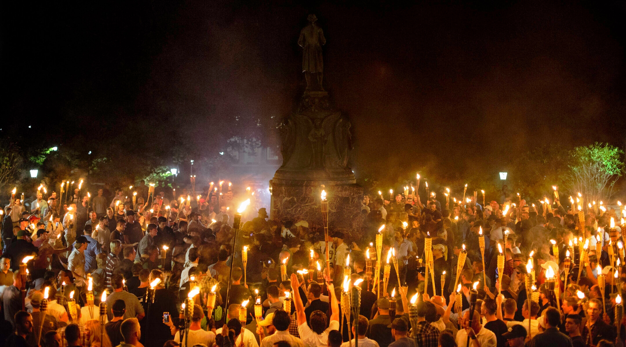 It's been 3 years since Charlottesville. We're suing to break the cycle of terror that...