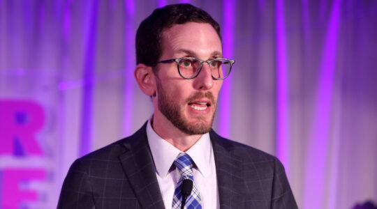 California State Sen. Scott Wiener speaks at the Lambda Legal West Coast Liberty Awards in Beverly Hills, California in 2018. (Randy Shropshire/Getty Images)