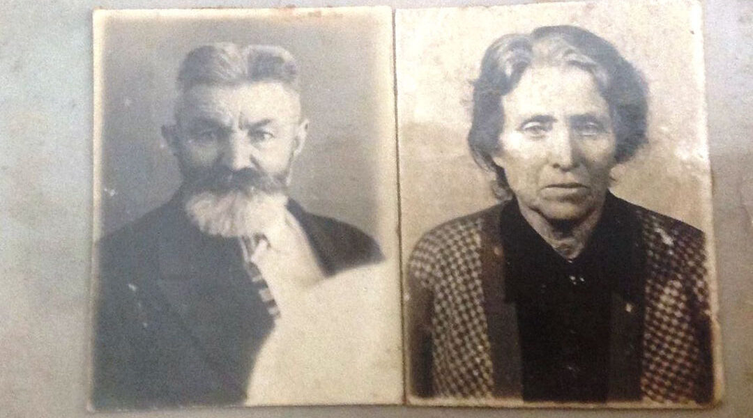 Mordechai and Sheindle Sova were shot in 1941 on a central street of Kyiv, Ukraine and buried in a ditch after they ignored the order to gather to be murdered at Babyn Yar. (Courtesy of Igor Kulakov and the Babyn Yar Holocaust Memorial Center.)