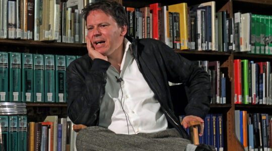 David Graeber speaks at a lecture in New York City on Sept. 19, 2014.(Hiroyuki Ito/Getty Images)
