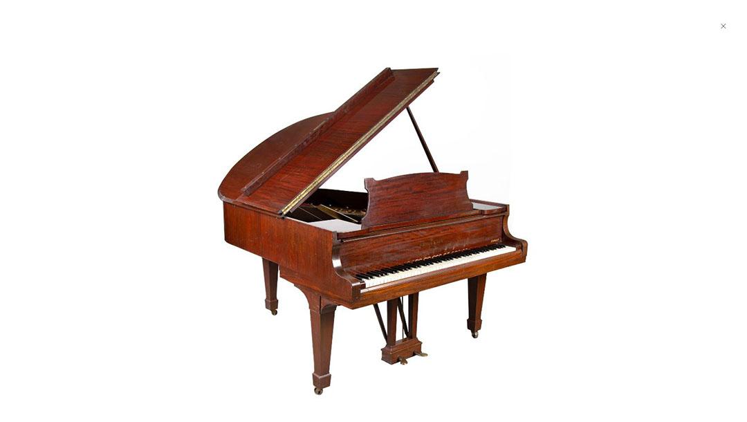 A piano that belonged to Władysław Szpilman. (Desa Uninicum)