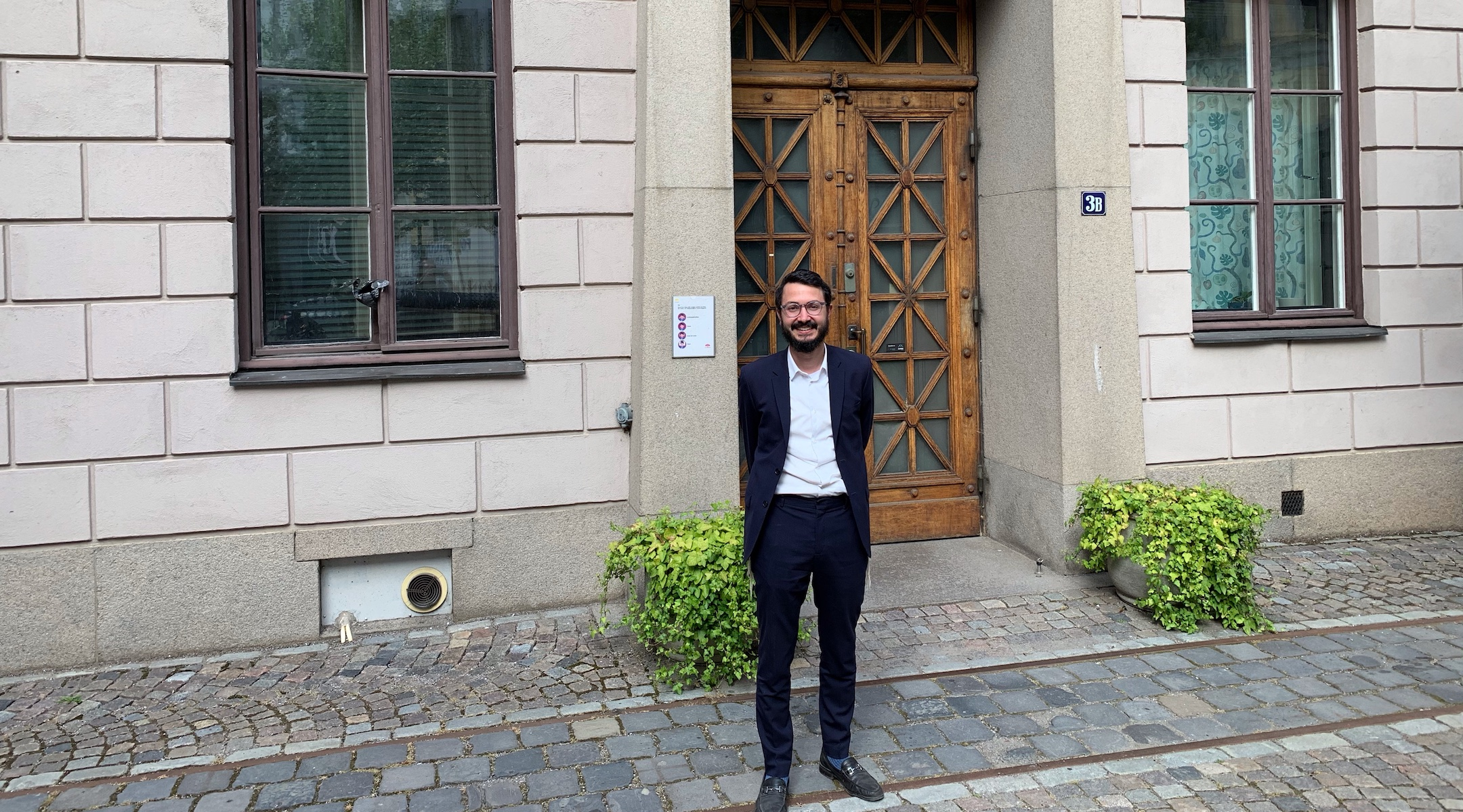 For the first time ever, Stockholm has a Swedish-born rabbi