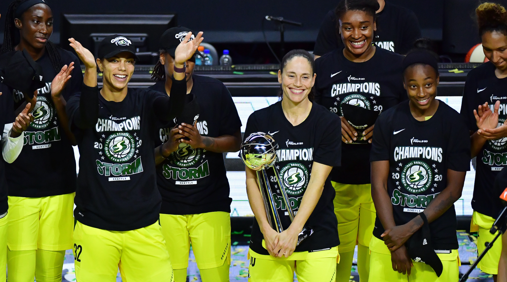 2 Jewish stars helped power the Seattle Storm to a WNBA championship - Jewish Telegraphic Agency