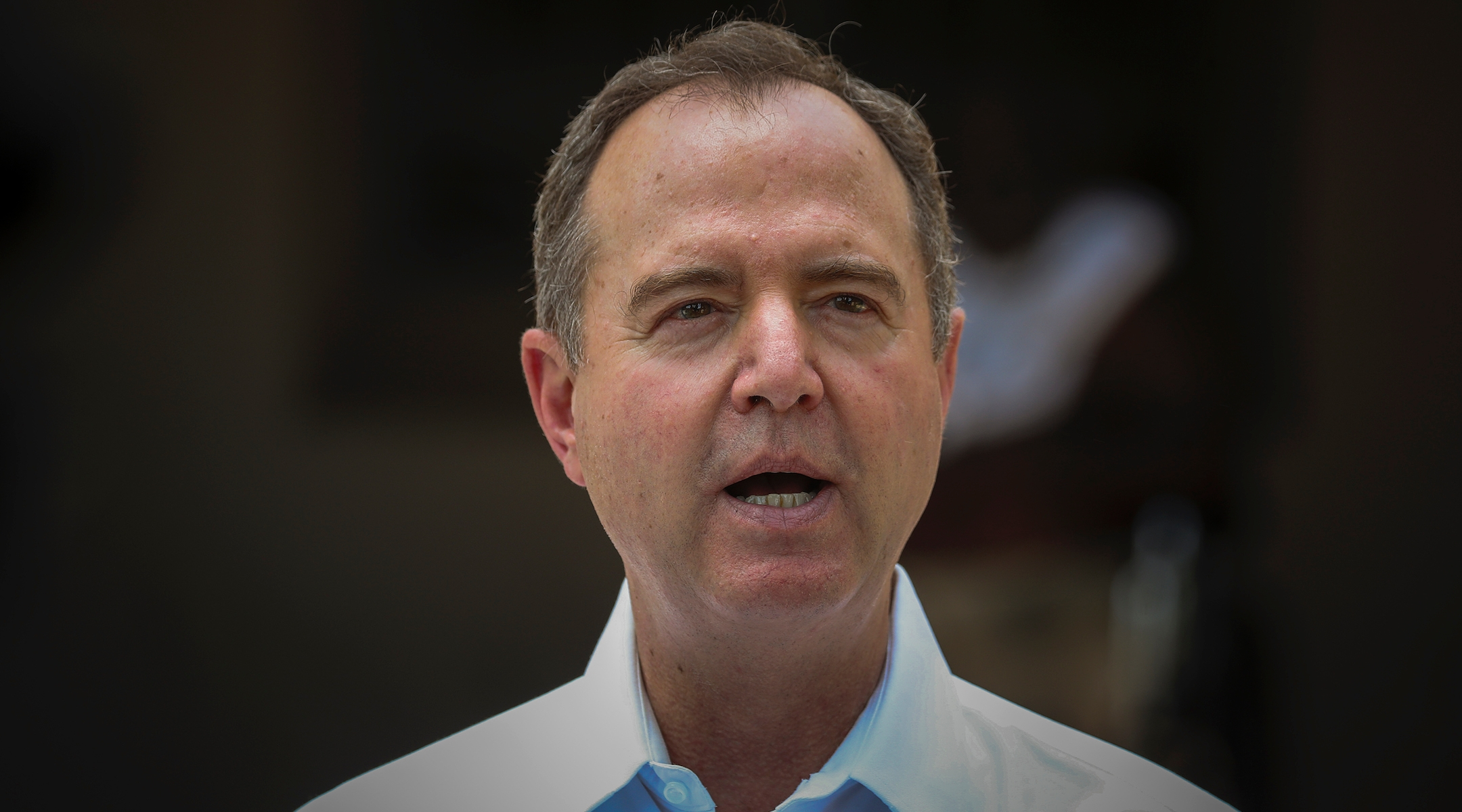 Schiff, seen here in August, blames President Donald Trump and other Republican leaders for rising anti-Semitism. (Irfan Khan / Los Angeles Times via Getty Images)