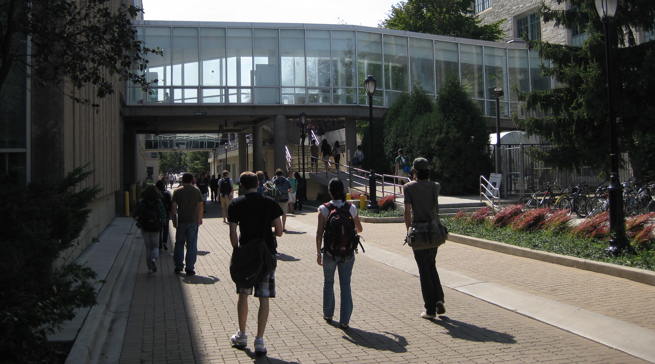 A view of Northwestern University's campus in 2010. (Wikimedia Commons)
