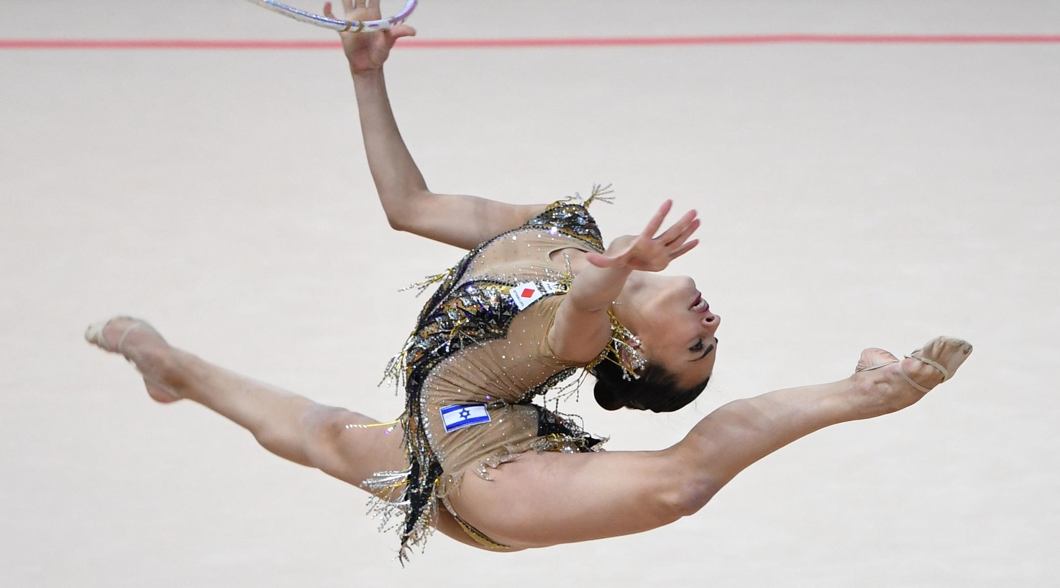 Israeli gymnast Linoy Ashram