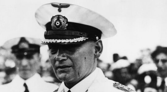 Hans Langsdorff, the Commander of the Nazi German battleship Graf Spee. (Keystone/Getty Images)