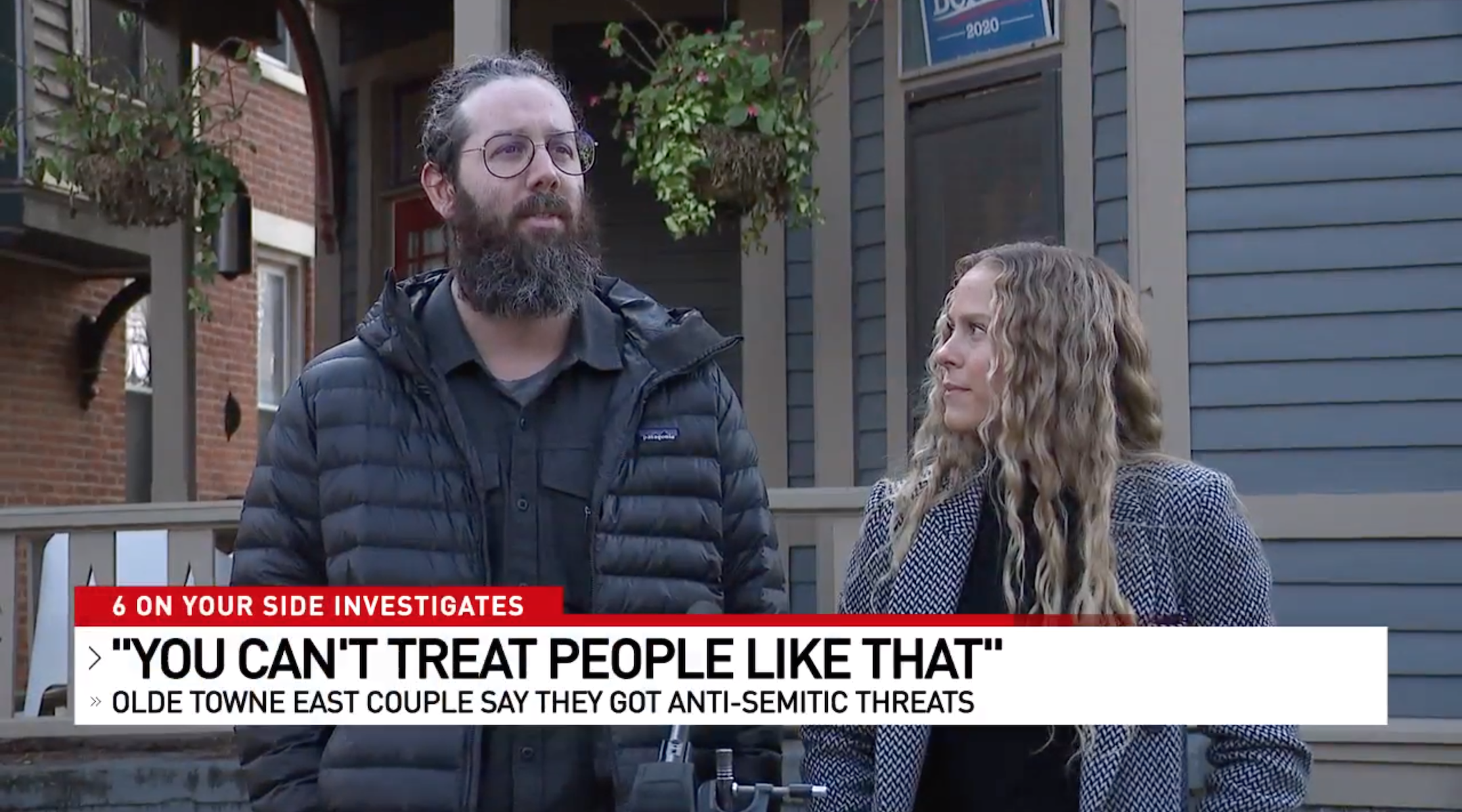 Ohio Jewish couple say they were victims of anti-Semitic hate crime by their neighbor