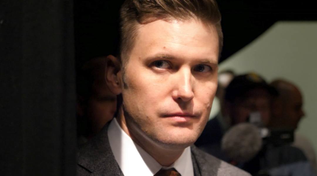 Richard Spencer, the white supremacist ideologue, is one of the documentary's main subjects. (Courtesy of Lombroso)