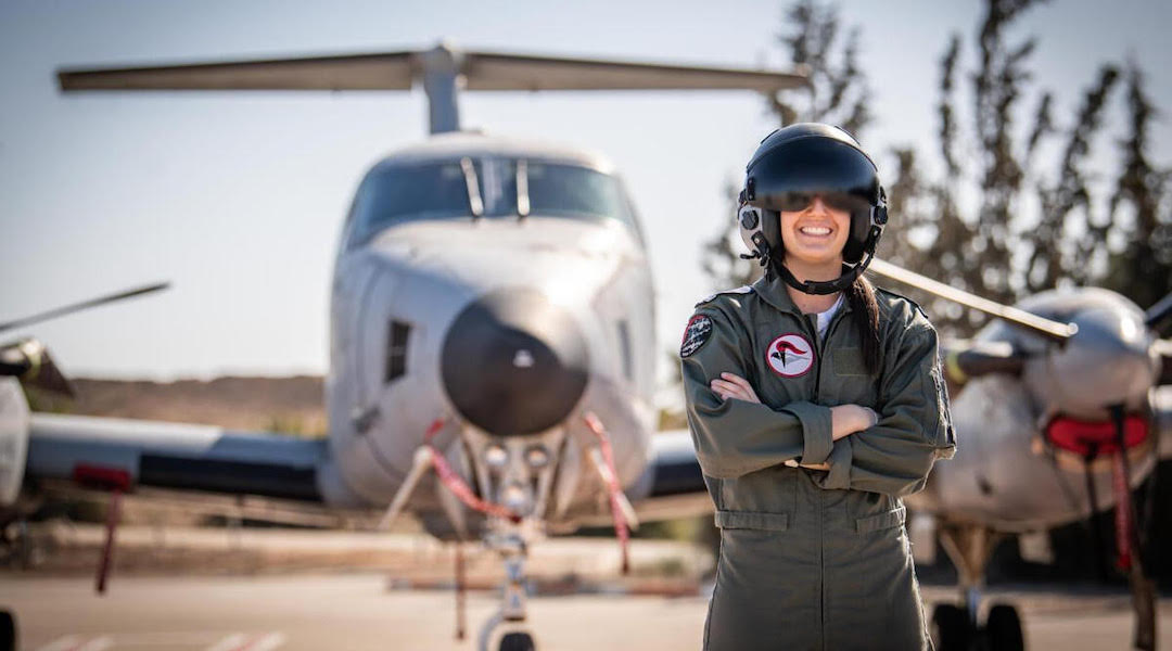 21-year-old from Boston becomes Israel`s first American female Air Force pilot