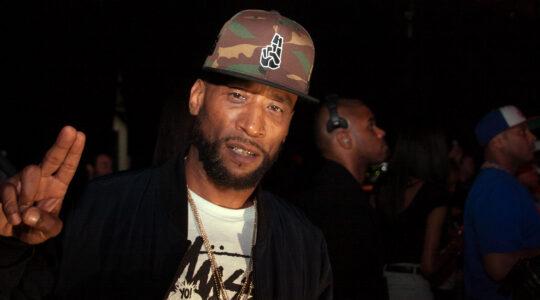 Lorenzo Dechalus, aka Lord Jamar, attends the YO! MTV Raps 30th Anniversary Live Event at Barclays Center in New York City on June 1, 2018. (Johnny Nunez/WireImage)