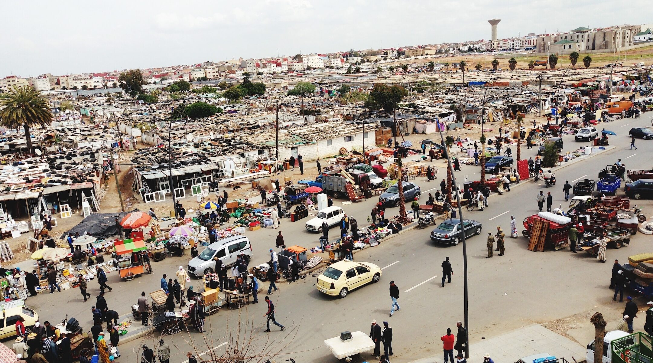 A view of Rabat, Morocco's capital city. (Getty Images)
