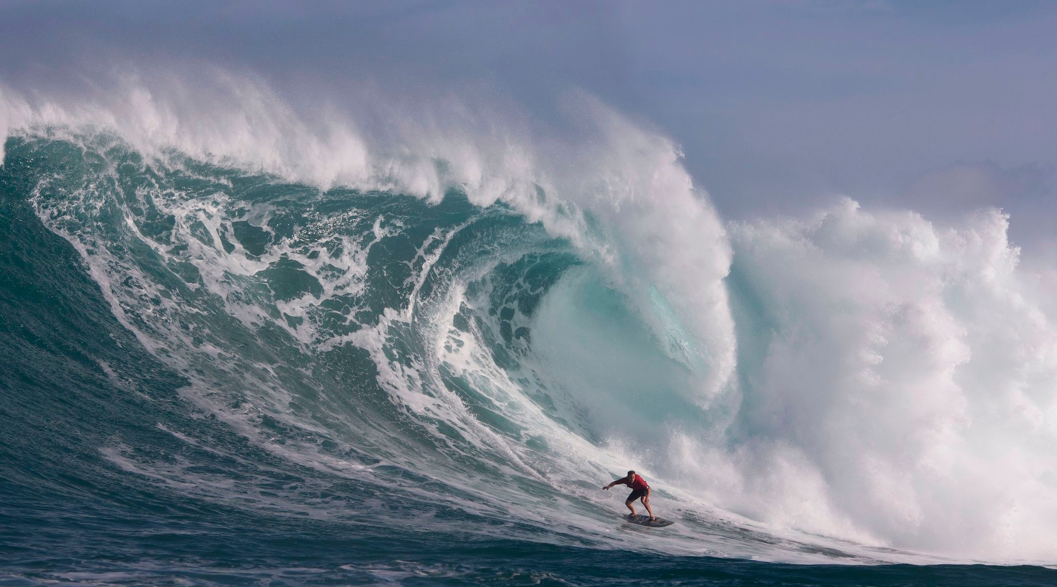 Hawaiian-Jewish surfer Makua Rothman may have ridden the largest wave of all time