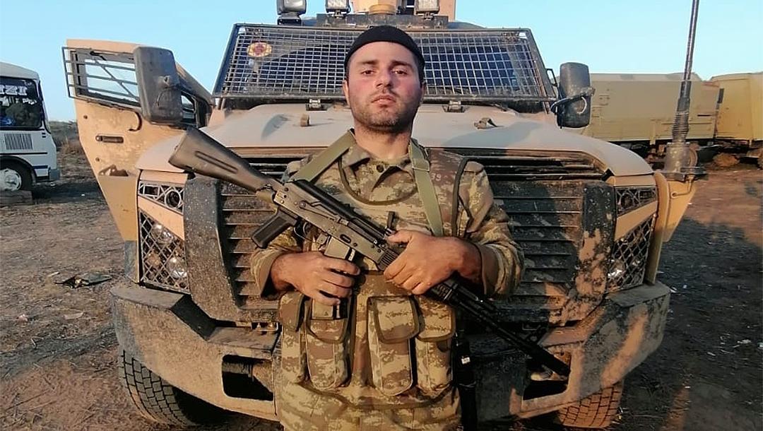 Azerbaijan Jewish soldier