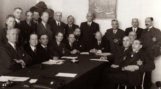 The Jewish Council of Amsterdam, the Netherlands during World War II. (Courtesy of the Jewish Cultural Quarter of Amsterdam)