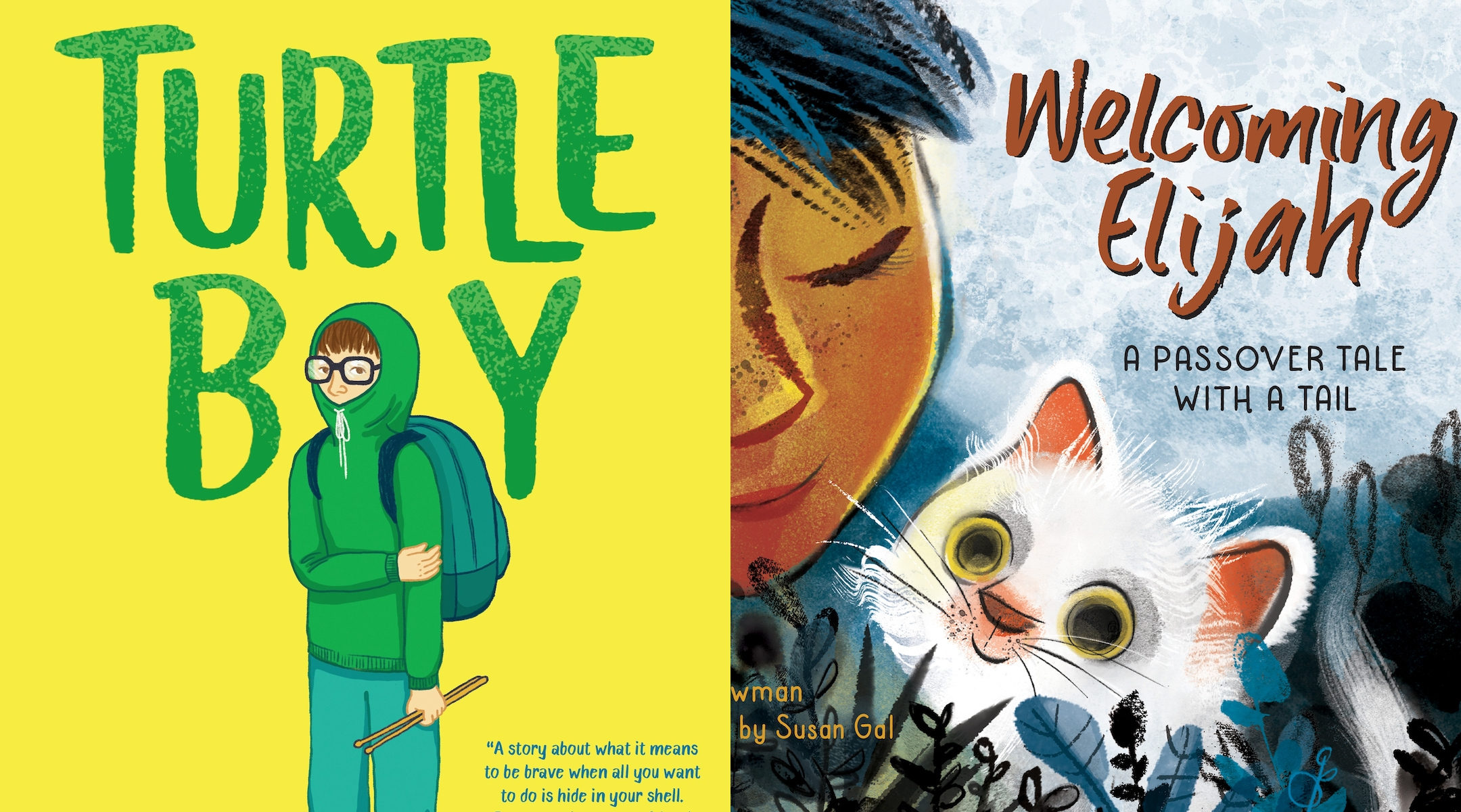 Top children's books feature a Passover tale and 2 coming-of-age debut novels