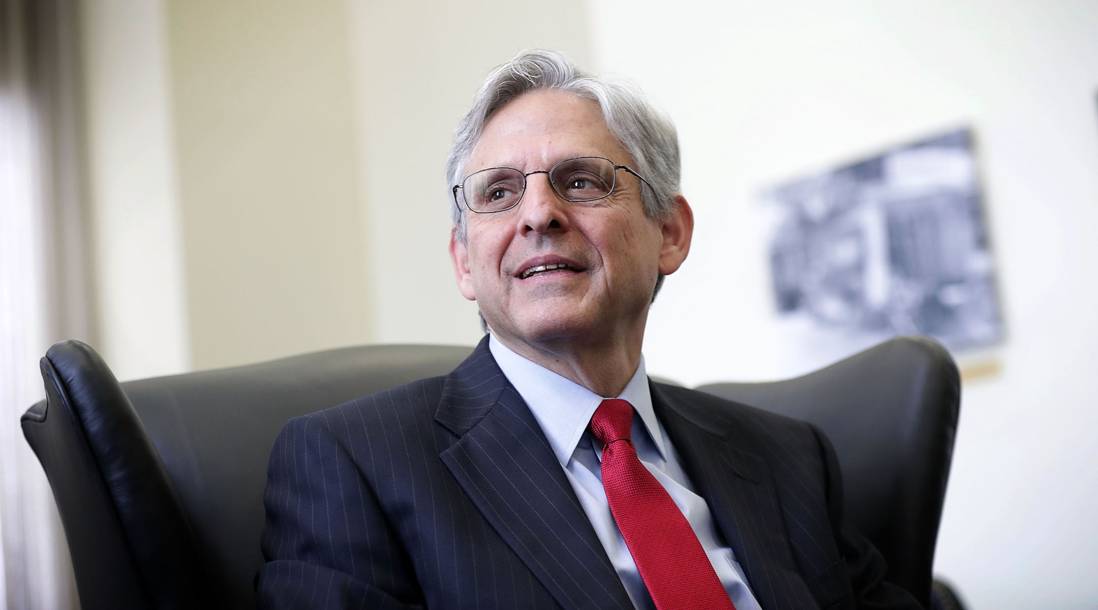 Merrick Garland, shown here in 2016, has been nominated to be the next attorney general. (Alex Wong/Getty Images)