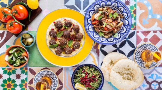 Elli Kriel, a sociologist by training, has succeeded as a chef by fusing traditional Jewish and Emirati recipes. (Courtesy of Kriel)