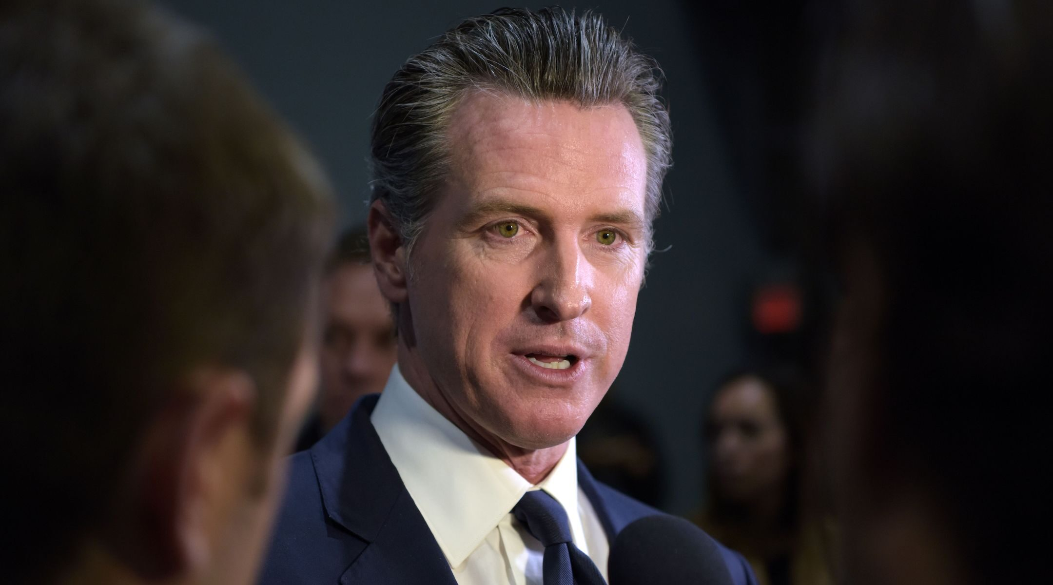 California Gov. Gavin Newsom, pictured here in 2019, vetoed a bill to make the ethnic studies curriculum a graduation requirement following objections to the content of its first draft. (Agustin Paullier/AFP via Getty Images)