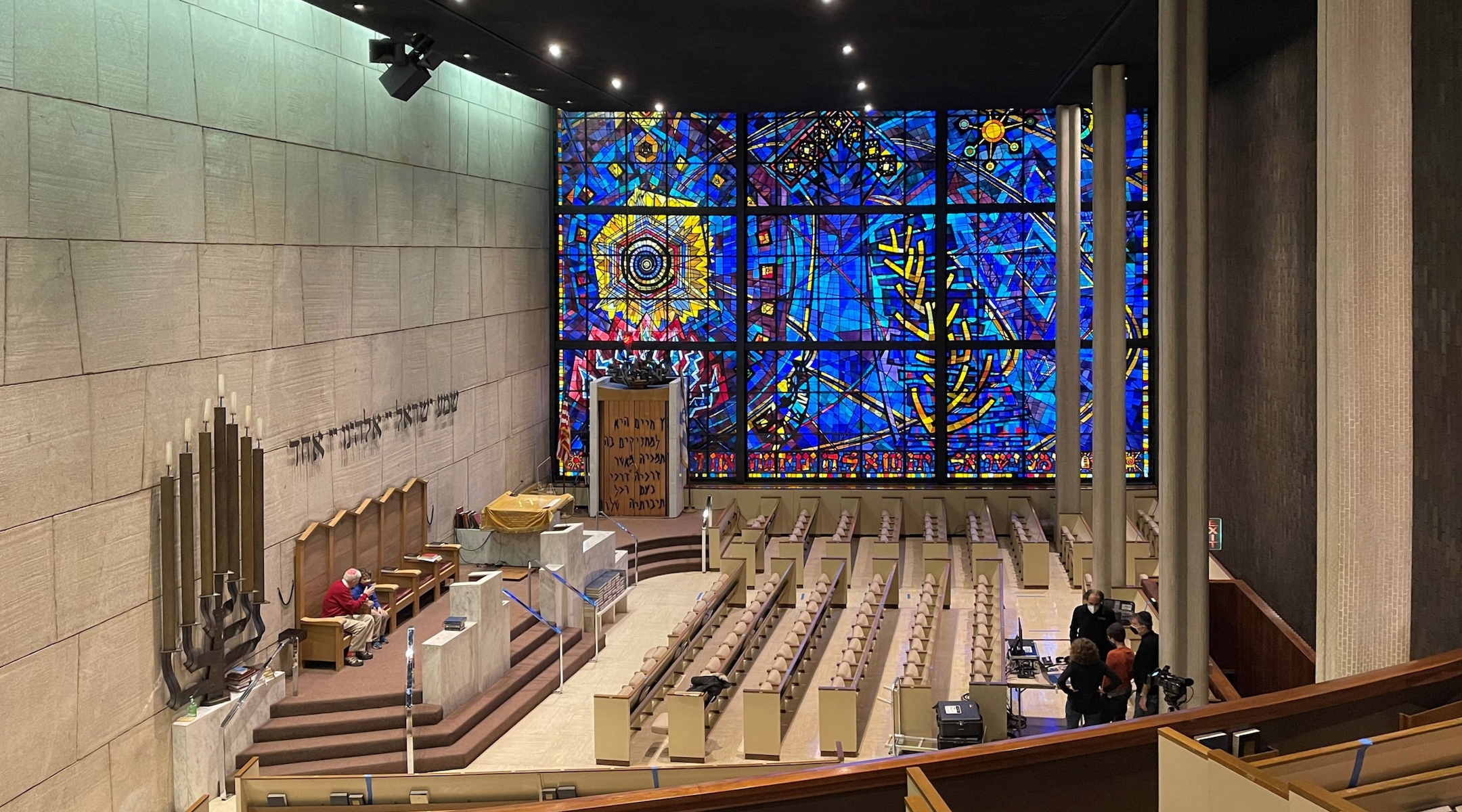 Future in question for Chicago Loop Synagogue and its monumental stained-glass window