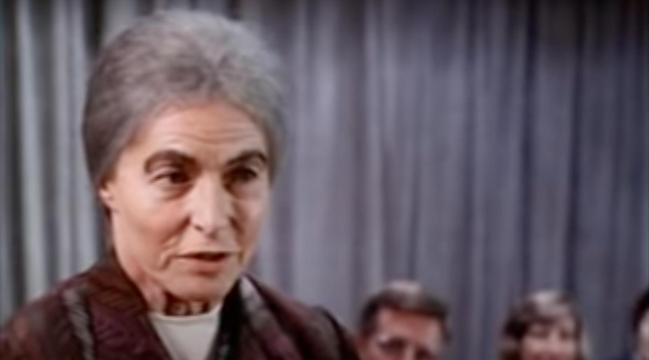Ingrid Bergman as Golda Meir