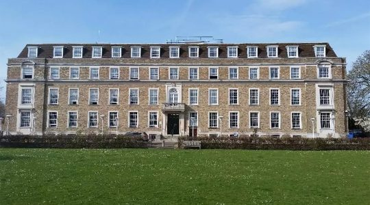 The seat of the County Council of Cambridgeshire. (Courtesy of the Council)